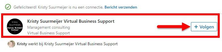 connecties uitnodigen LinkedIn
