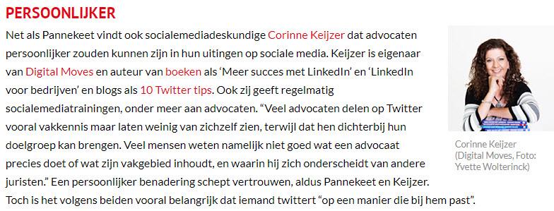 advocaten op social media
