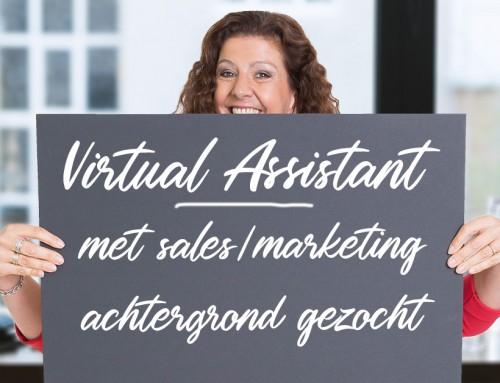Virtual Assistant met sales/marketing achtergrond gezocht