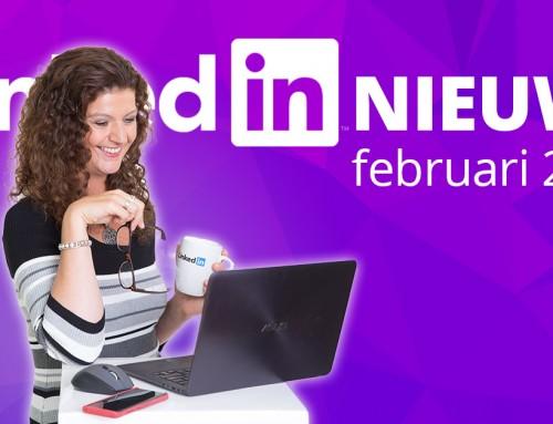 LinkedIn nieuws februari 2020