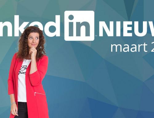 LinkedIn nieuws maart 2020