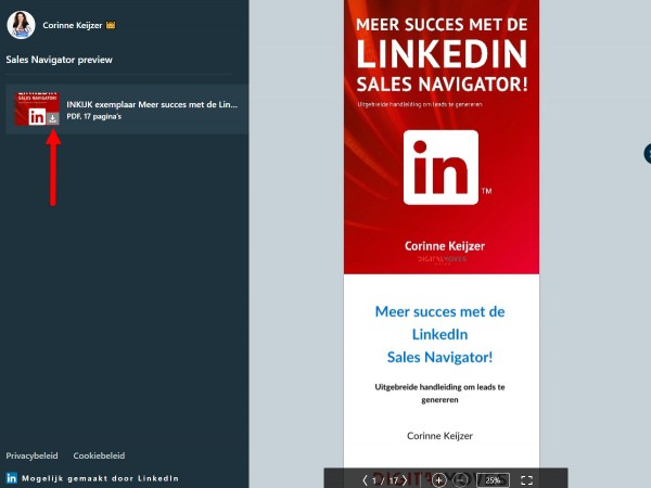 tips sales navigator