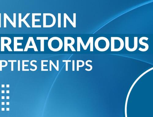 LinkedIn Creatormodus – opties en tips