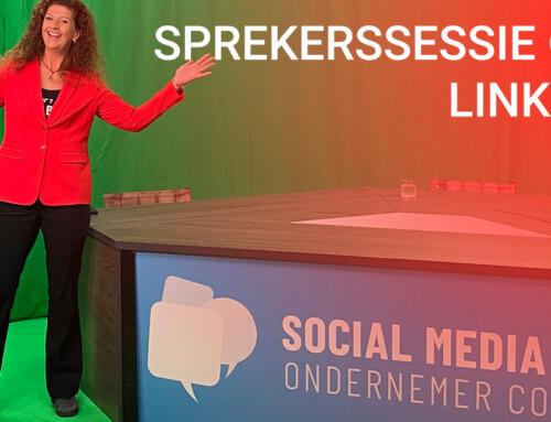 Aftermovie Social Media Ondernemer Congres 2021- Sprekerssessie over LinkedIn