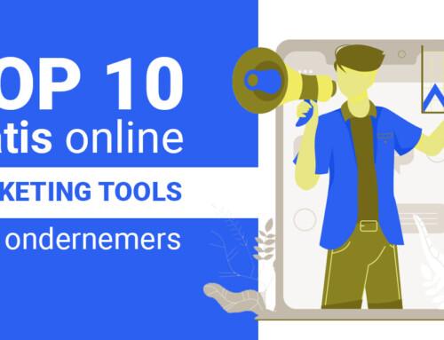 Top 10 gratis online marketing tools voor ondernemers